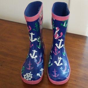 Gymboree Nautical Rainboots